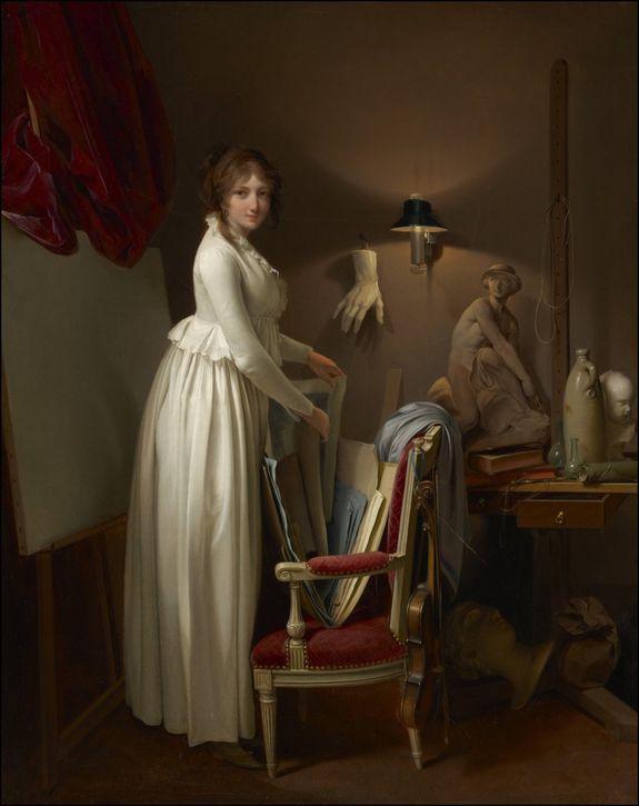 louis leopold boilly femme artiste dans son atelier