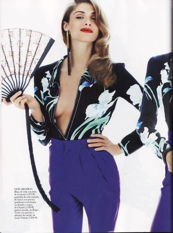 Elisa Sednaoui Vogue Espagne Juin 2011 Louis Vuitton