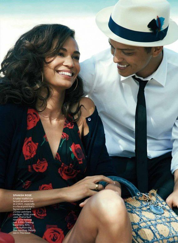 joan smalls bruno mars vogue juin 2011