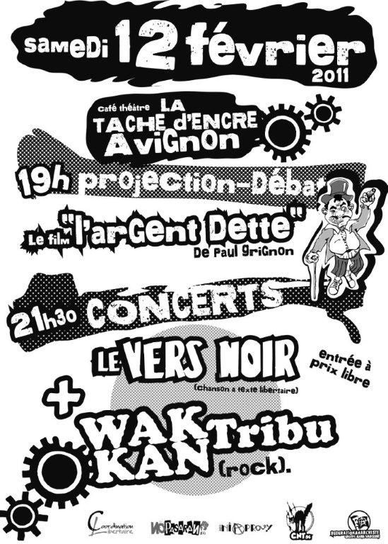 affiche 12 fevrier