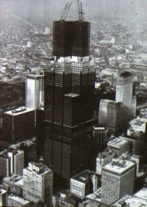 Sears Tower construction