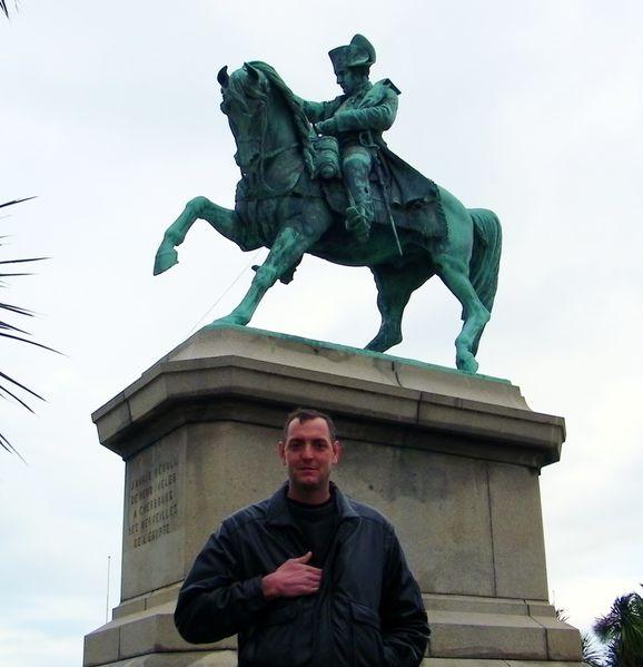 134 Napoleon Boneparte Statue, Cherbourg