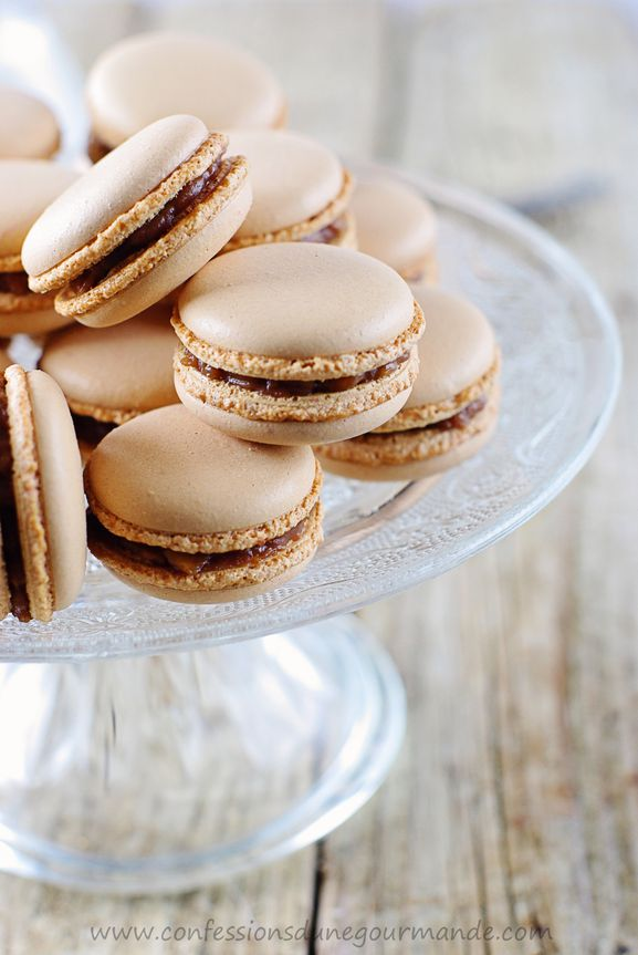 Macarons aux snickers 1