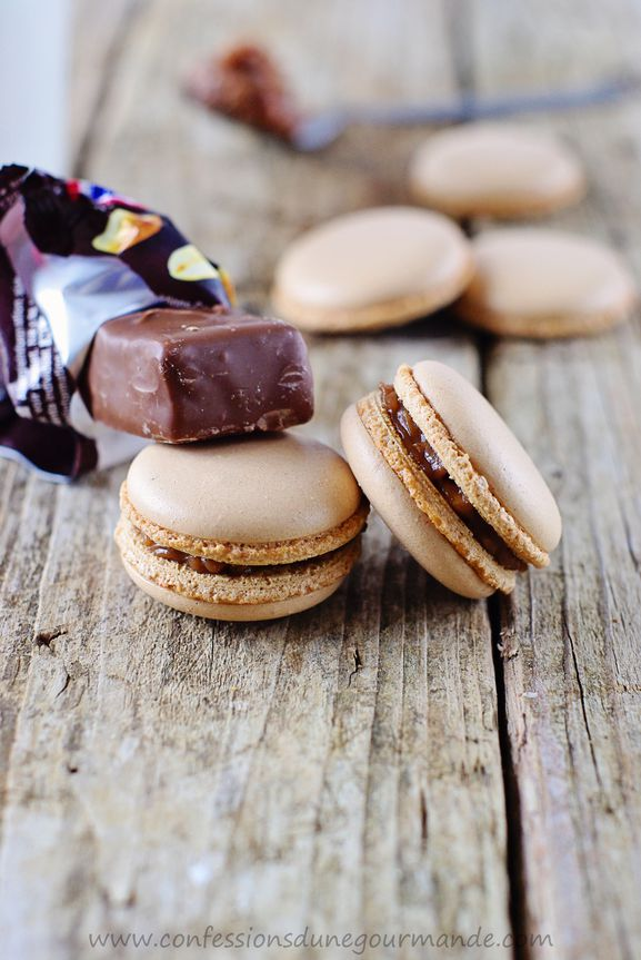 Macarons aux snickers 2