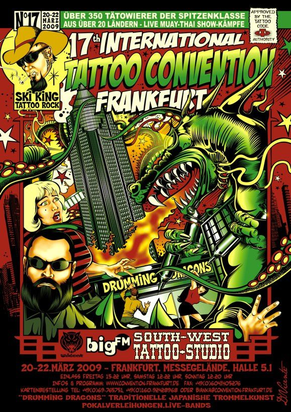 17th Tattoo Convention Frankfurt/Main. Die Fleischerei!