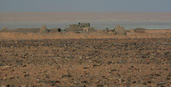 Fort militaire de Ghallaouiya Sahara de Mauritanie