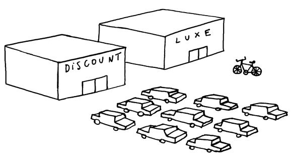 discount luxe