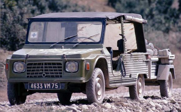 Citroen Mehari 1969 Paris Madras