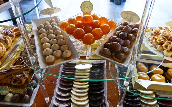 Fruits confits et marrons glacés
