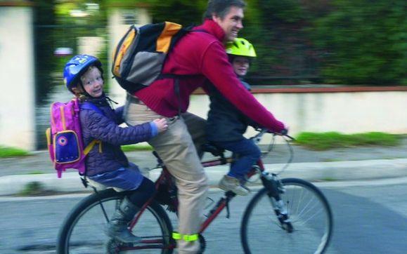 aller école en vélo