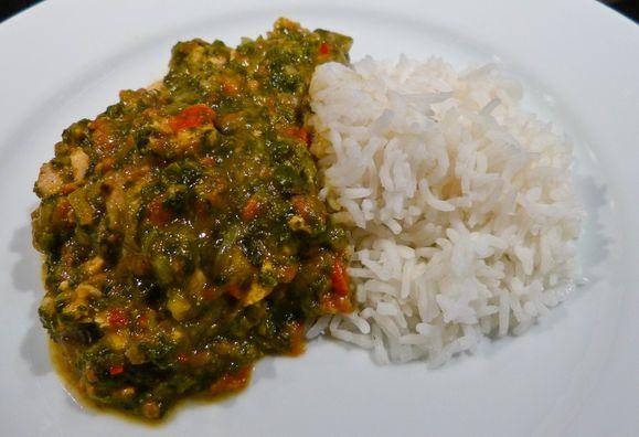 Poulet Palava Cuisine Africaine L Atelier Des Couleurs
