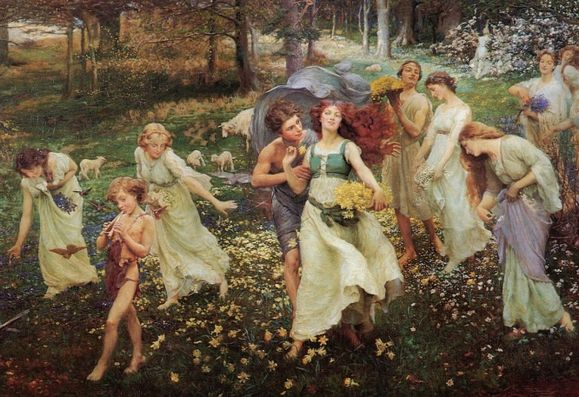 Progression du printemps Charles Daniel Ward