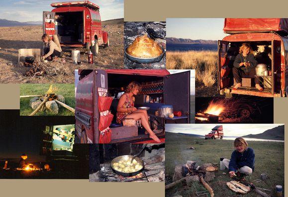Repas bivouac Blog Mongolie