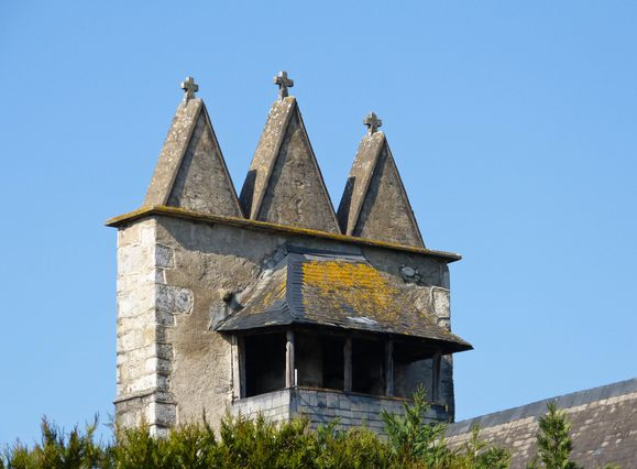 Clocher de l'église de Mendy