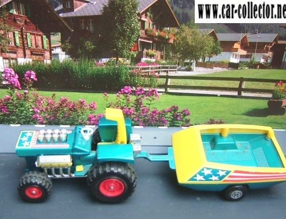 mod tractor super kings + tractor trailer matchbox k-3
