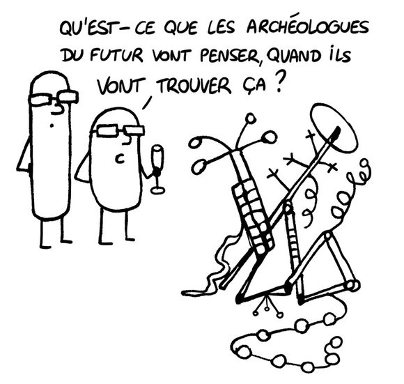 archeologues futur