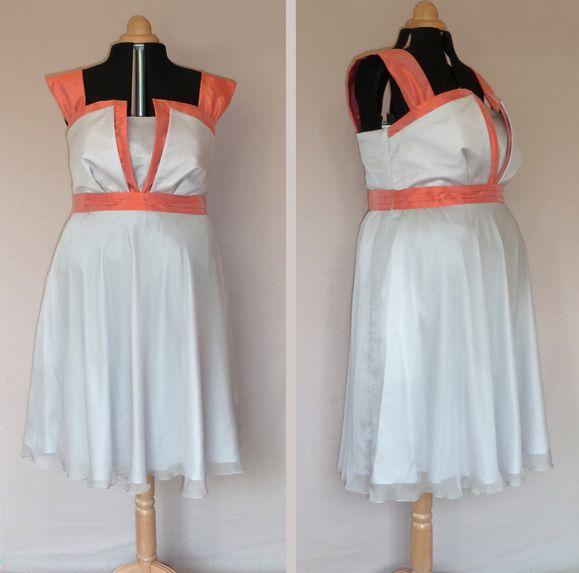 robe-Melissa-mousseline-grise-et-soie-corail.JPG