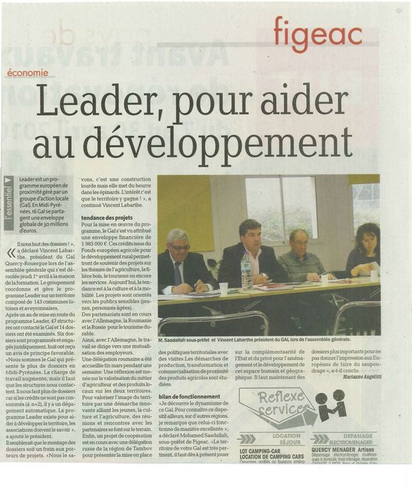 article GAL 07-04-2010 LaDepecheLot