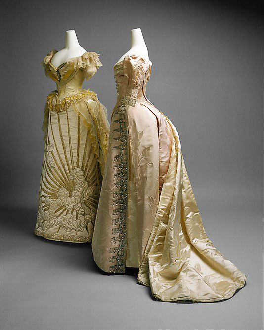 Ball gown House of Worth 1887