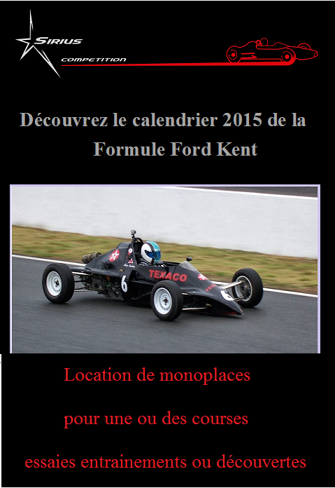 calendrier coupe kent