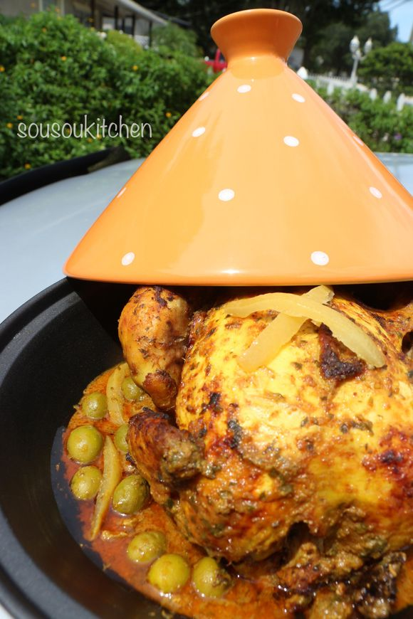 Chicken the moroccan way