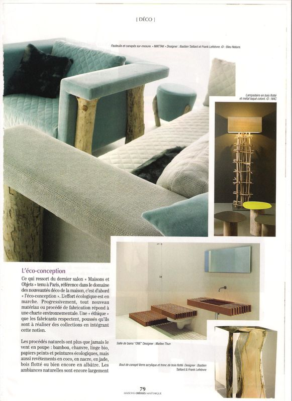 Maisons cr oles magazine tendance d co 2010 le blog d for Magazine deco maison