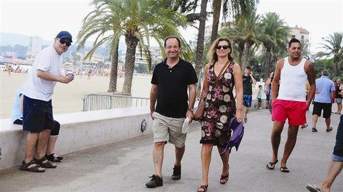 Photo vacances franois hollande valerie trierweiler brega