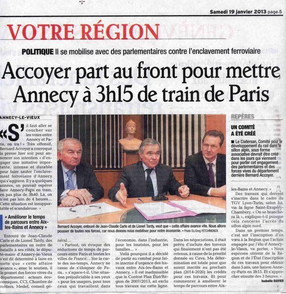 Annecy paris tgv avenir transports hte savoie for Chambre de commerce annecy