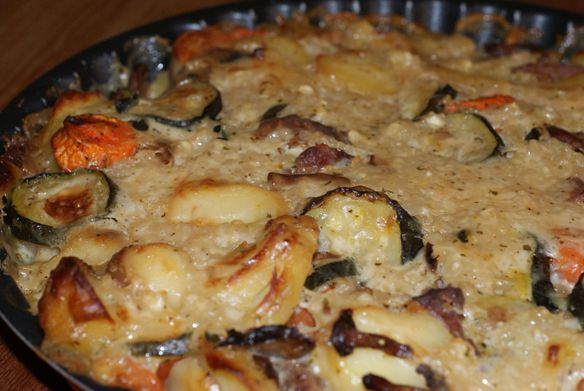 Gratin legumes - fromage (1)