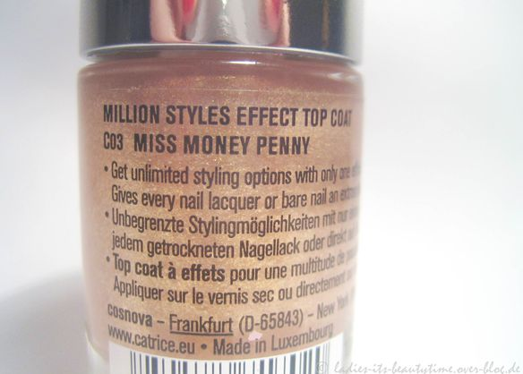 Nagellack Catrice Miss Money Penny2