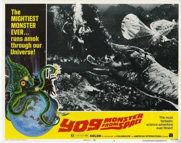 Yog Monster from space ( 1970) Ishirô Honda.