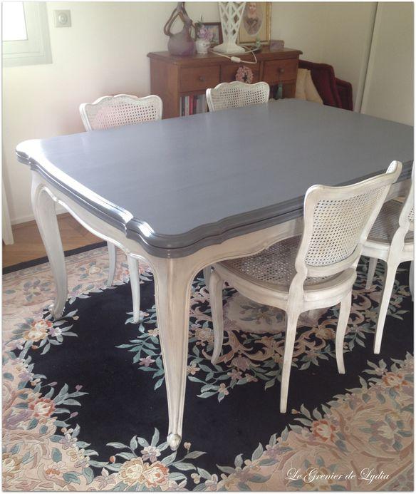 Relooking d 39 un s jour gustavien suite et fin relooking for Sejour table et chaises