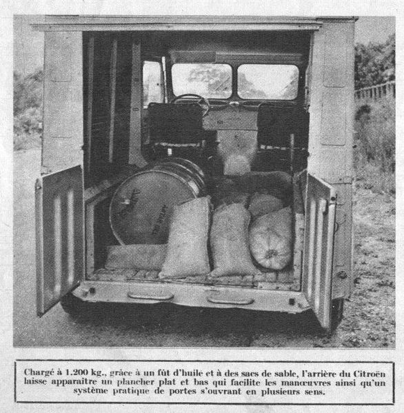 Citroen 1200 kg - l'Automobile n°113 Sept 1955 5
