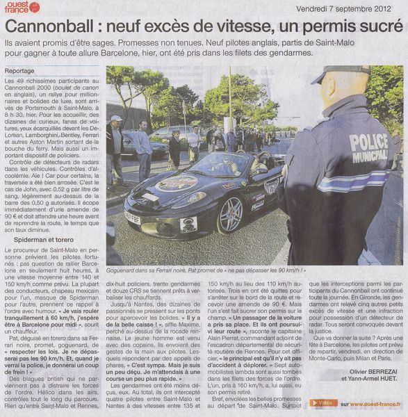 Cannonball 2000- 7 septembre 2012 OF 3