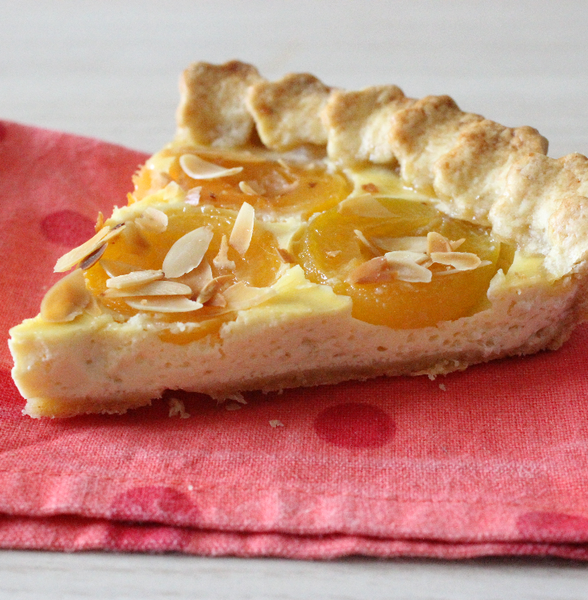 tarte abricot amandes
