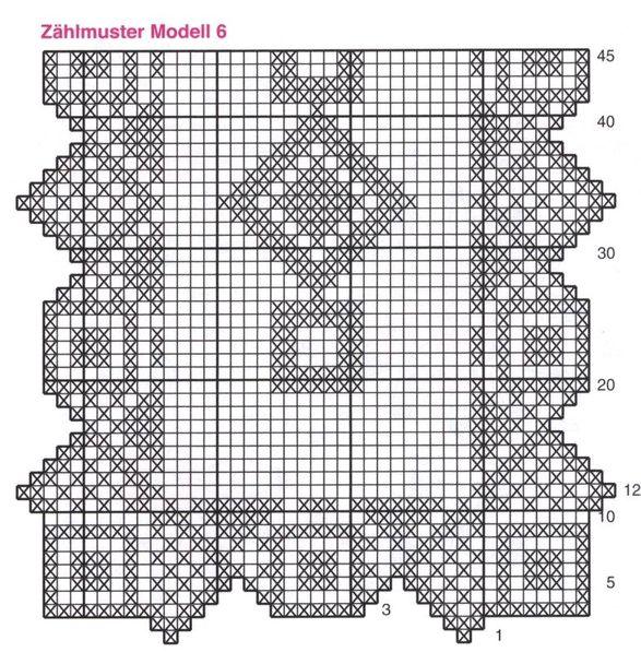Bien connu Napperons rectangulaires et leurs grilles gratuites , au crochet  MK34