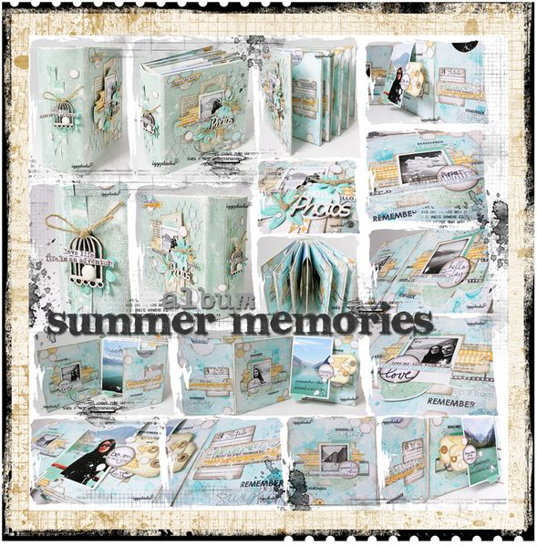 album scrap iggydodie summer memories1