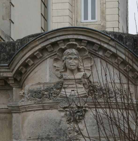 mascaron femme villa rosa pornichet