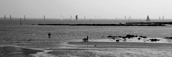 Sur la plage à Larmor 5805b