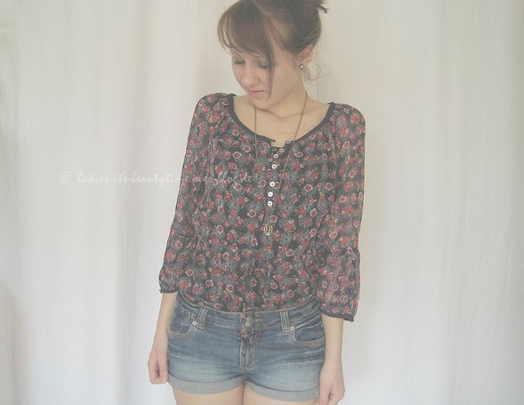 Outfit Blümchenbluse4