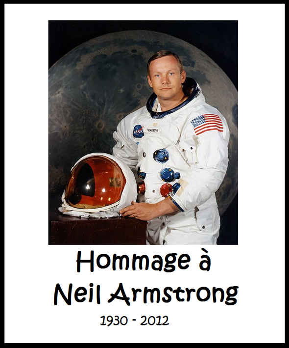 Hommage N. Armstrong