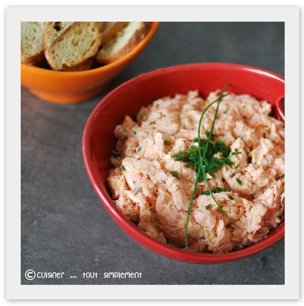 rillettes saumon citron
