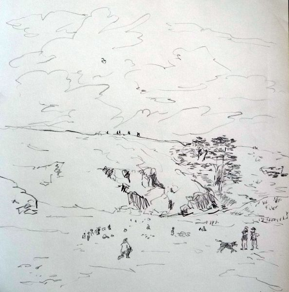 plage de donnant dessin