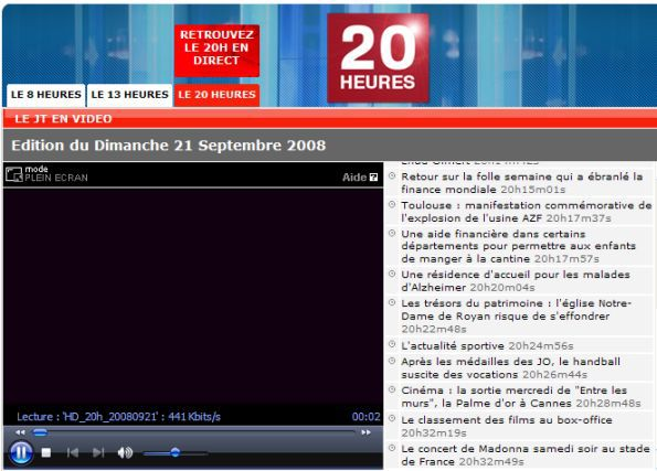 Sticky & Sweet Tour: watch FRANCE 2 TV News on Paris concert