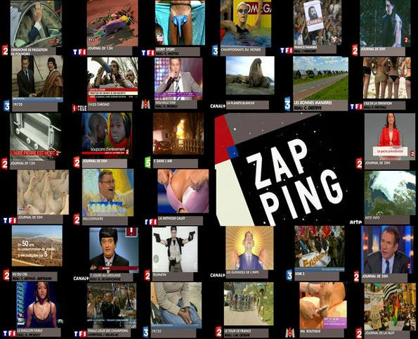 Zapping CANAL+ 20 ans d'archives (1989-2009)