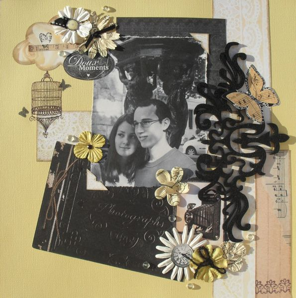 Scrap'Inès Doux moments 01