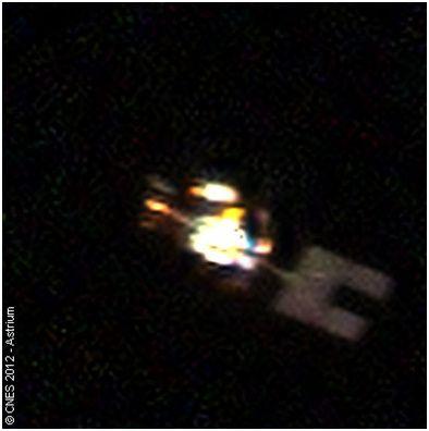 satellite SPOT 5 vu par Pléiades - CNES - Astrium