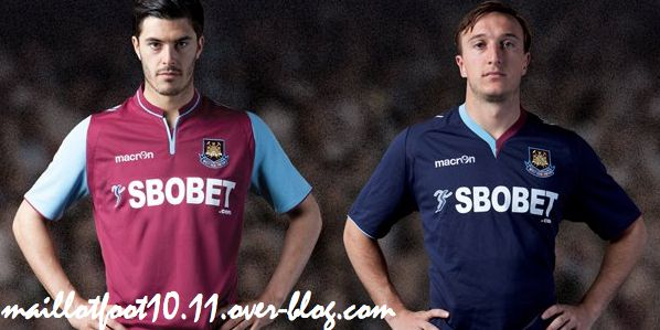 maillot 2012-13 Maillots-2013-west-ham