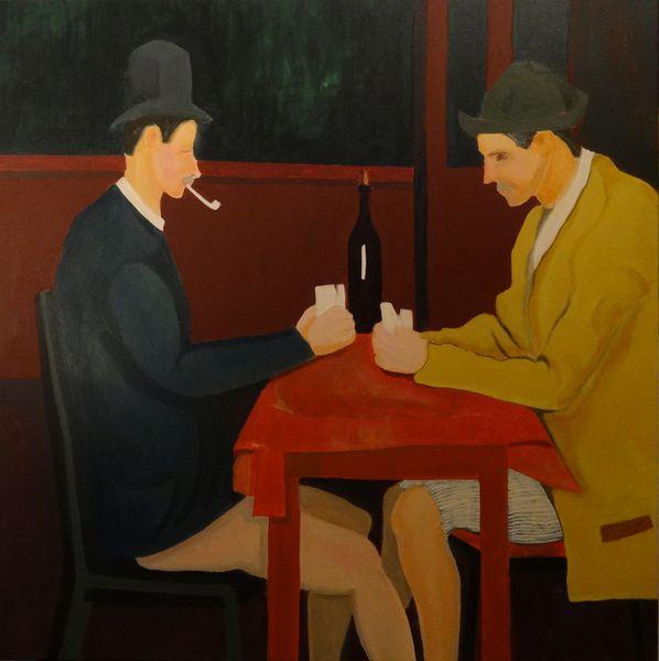 Cezanne Strip Poker V3© Bernard Moutin 13