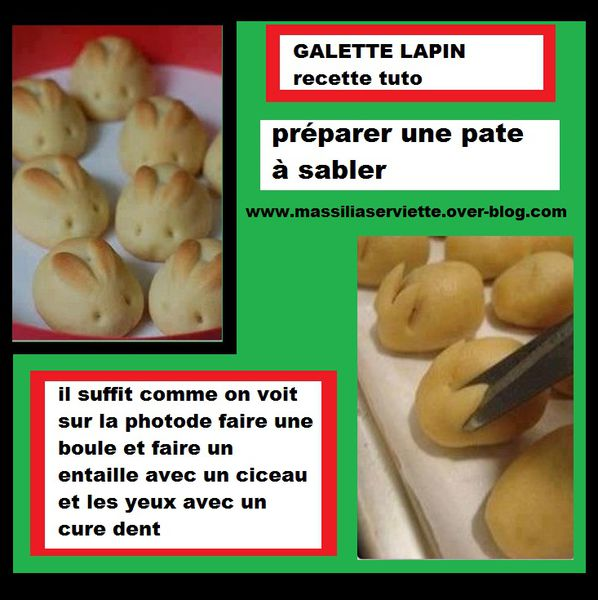 lapin galette facile